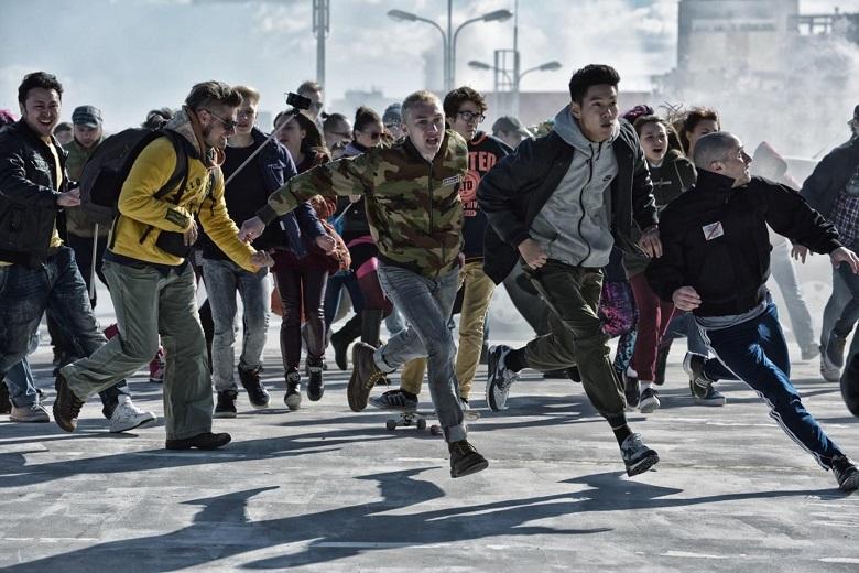 На фото – мигранты в Москве